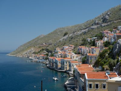 Penelope Up and Down - Symi Island